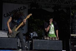 Camilo e Kadw, da Raul!, ao vivo no Cambuca Rock