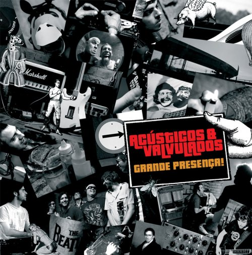 Capa do cd grande presença